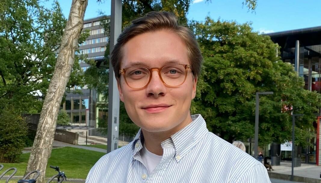 Preben André Jungård Andersen (23) fra Oslo studerer Mastergrad i politisk kommunikasjon ved Universitet i Oslo