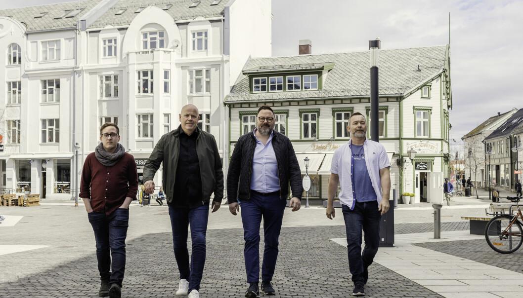 Sondre Berntsen, Jan Arne Kristiansen, Dan Olsen og Espen Flosland etablerer byrået Magnet.