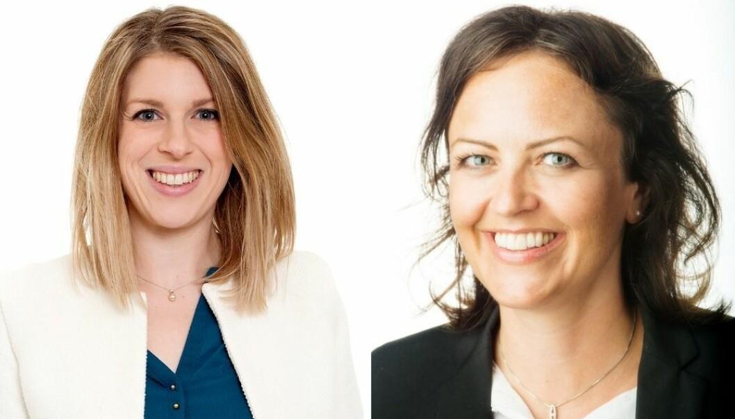 Inger Johanne Stenberg (t.v) forlater Gambit for å bli ny kommunikasjonsdirektør i ONS. Benedicte Thu Nørgaard Økland er ansatt som ny programdirektør i samme selskap.