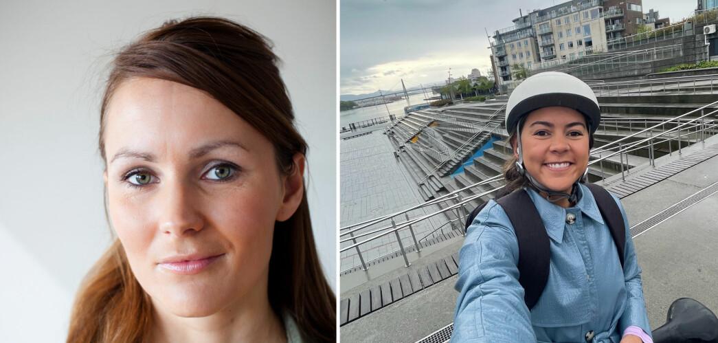 Kristina og Maiken skal jobbe med merkevarebygging for Stavanger kommune
