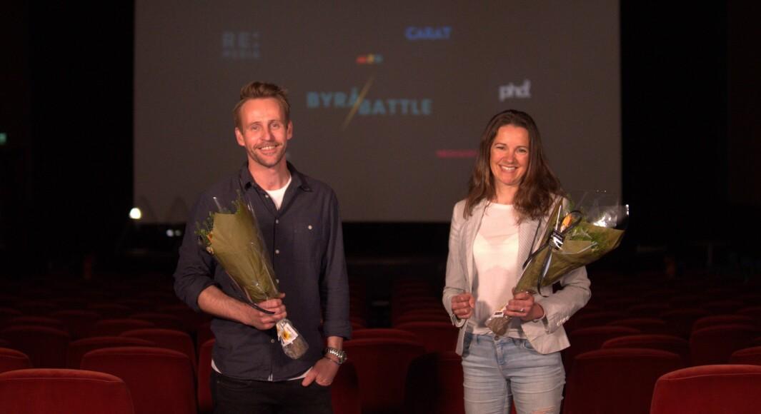 Jørgen Marthinsen og Anne Cathrine Aasen stakk av med seieren i Byråbattle 2021