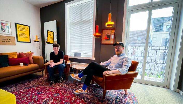 Try og Svardal har kjøpt seg inn i selskapet til Øyvind Storli Hoel, Netlife Bergen. De holder nå til i felles lokaler midt i Bergen sentrum.