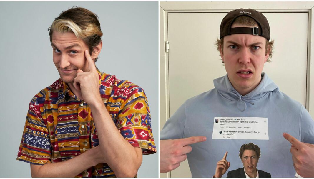 Oskar Westerlin og Kristoffer Kaayne Kaalsaas er begge store profiler på norsk TikTok. De bruker plattformen til å lage underholdning gjennom matlaging, vurdering av kjøleskap og bygge eget merkevare.