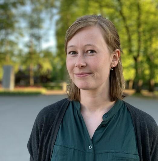 Kristine Sterud (28) ansatt som debattansvarlig i Medier24 og KOM24