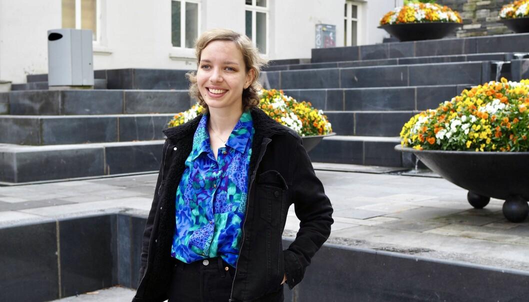 Siri Ahmer Nilsen (30) er ansatt som innholdsprodusent for Try Bergen.