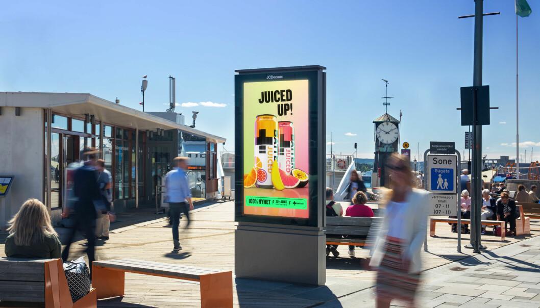 JCDecaux: – Nå vil annonsørene være med på festen