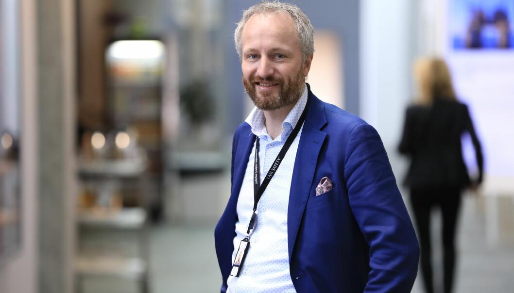 Kjetil Eide har mykje makt over kva som vert formidla ut, i si nye stilling.