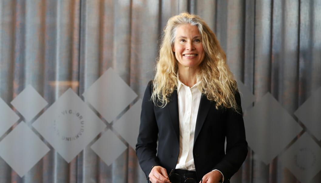 Lånekassen søker ny sosiale medier-ekspert. Her ser du kommunikasjonsdirektør Anette Bjerke i Lånekassen.Foto: Håkon Mosvold Larsen / NTB