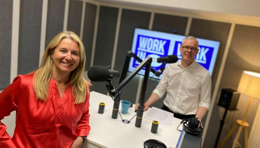 Tove Selnes, konserndirektør People (HR) i Storebrand har gjestet den nye podkasten «Work In» ledet av blant annet Per Valebrokk i Storm Communications.