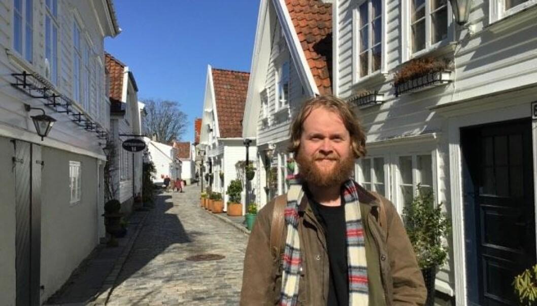Kreatør Martin Brurås har fått jobb i Fasett.