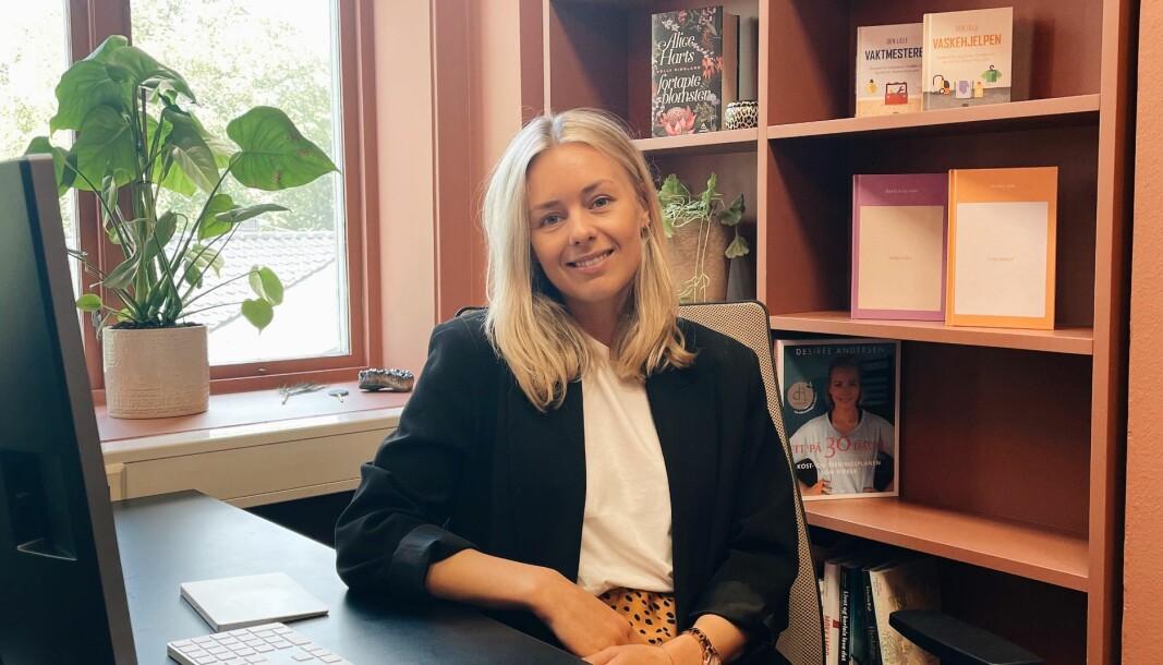 Da Trude Laberg startet å jobbe i Strawberry Publishing for snart fire år siden var forlagsbransjen relativt ukjent for henne.