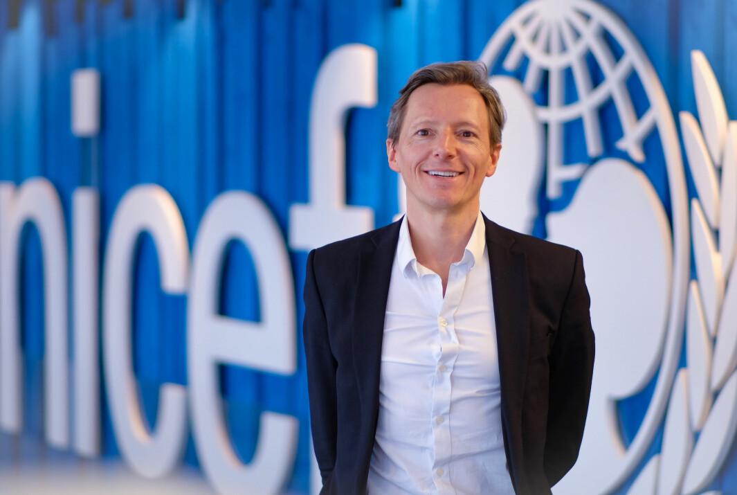 Kommunikasjonsdirektør Jean Yves Gallardo i Unicef mener at TikTok kan bli en av deres viktigste kanaler i fremtiden.