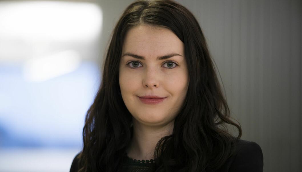 Karine Skaret er ansatt som kommunikasjonssjef i Novartis. Foto: Berit Roald / NTB