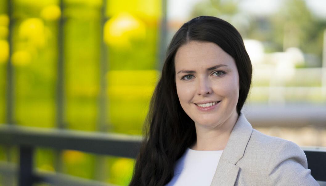 Dette tar Karine (30) med seg fra politikken og inn i rollen som kommunikasjonssjef