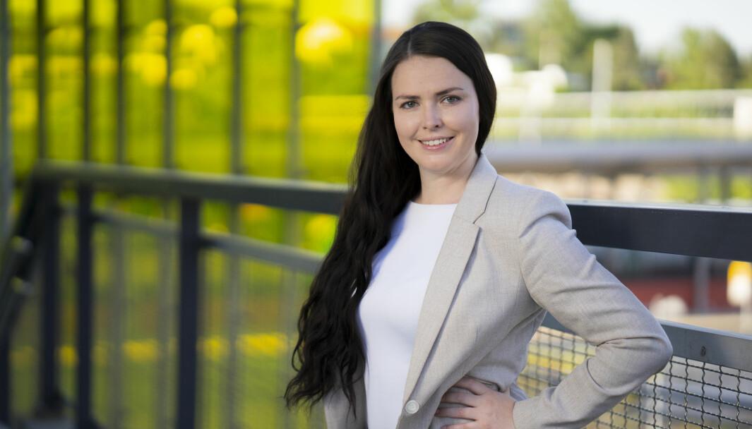 Karine Skaret kapret den nyoppretettde stillingen som kommunikasjonssjef for Novartis her i Norge.