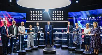 I årets valgkamp må Solberg, Støre og Vedum forholde seg til de samme reglene på Facebook som deg og meg