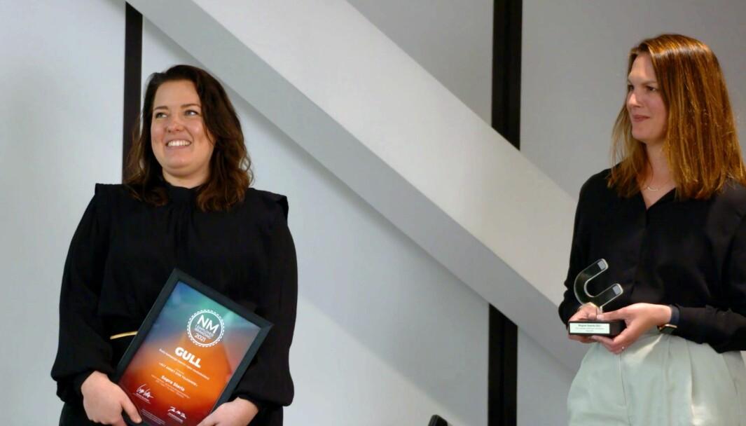Gullet i kategorien «årets kampanje overfor egne medarbeidere» gikk til Sopra Steria med kampanjen «Alt annet enn et talkshow»