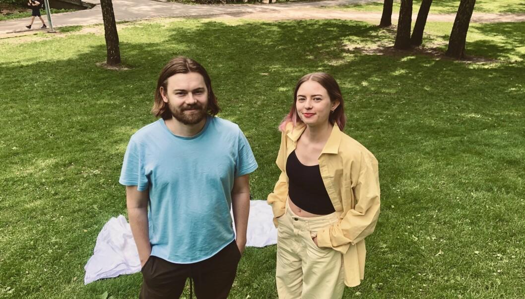 Med kun tusj, papir og seks timer til disposisjon vant Vincent og Maria Gulltusjen