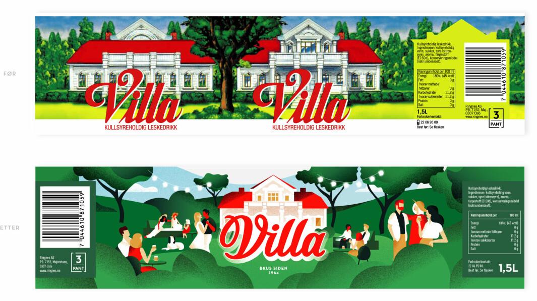 – Vi fokuserte på å skape liv i hagen til villaen med mennesker, og vise en del av den rike historien til Villa