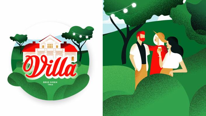 – Vi fokuserte på å skape liv i hagen til villaen med mennesker, og vise en del av den rike historien til Villa.