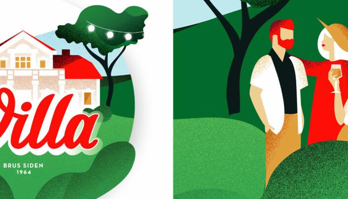Villa har endret den ikoniske logoen: – Det skal være mer stas å sette Villa på bordet enn annen brus