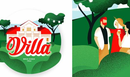 Villa har endret den ikoniske logoen