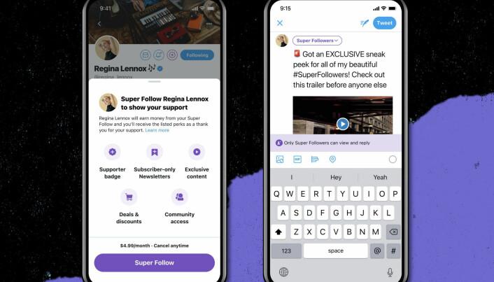 Med Super Follows tar Twitter opp konkurransen med den populære tjenesten Patreon.