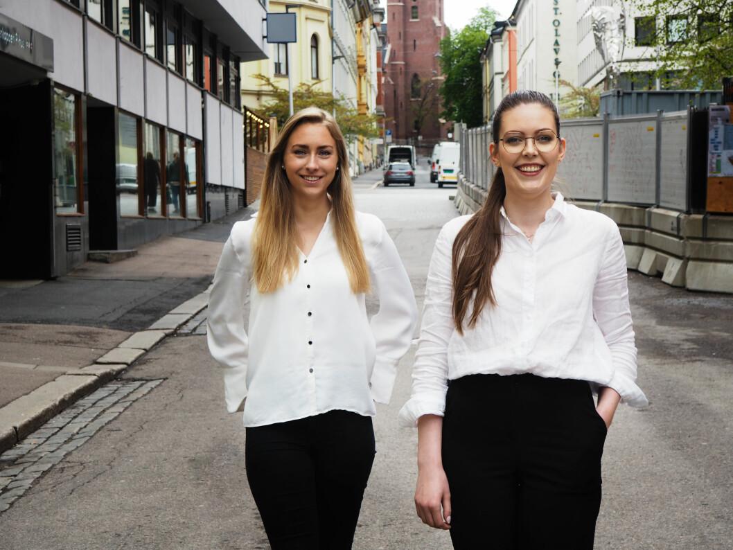 Eline Ougendal ser frem til å få med seg Ingeborg Svergja på laget for å hjelpe Vivas kunder med organisk synlighet