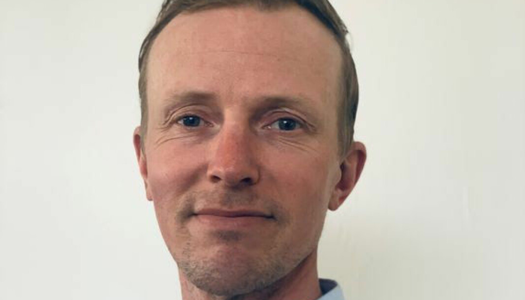 Olaf Erlend Gundersen, er ansatt som kommunikasjonsdirektør ved Universitetet i Bergen. Foto: UiB