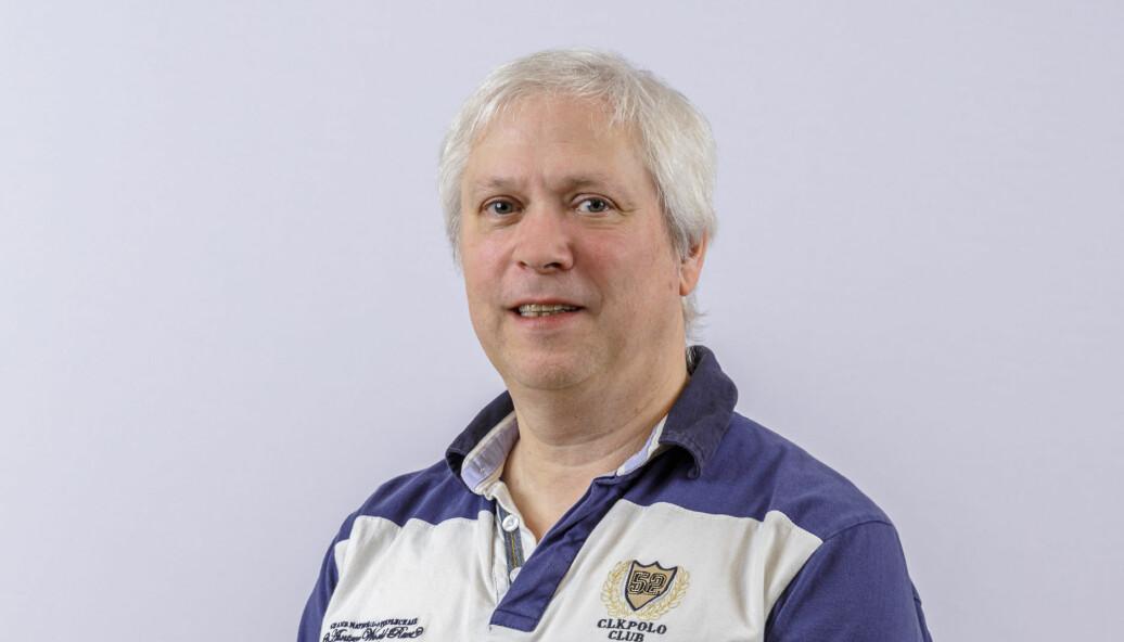 Kommunikasjonssjef Leif Borch i Eigersund kommune kan bekrefte at han er frisk som en fisk.