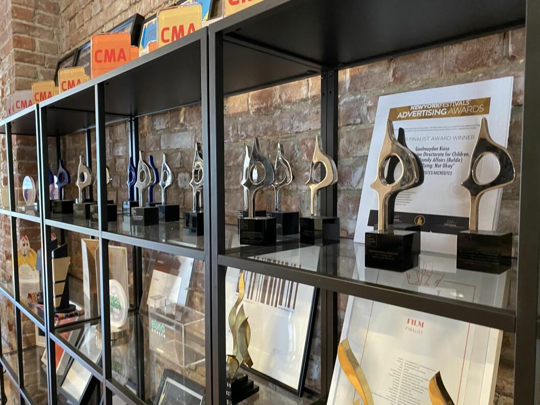 Geelmuyden Kiese hadde fire nominasjoner til årets Sabre Awards, og har allerede vunnet 19 priser tidligere.
