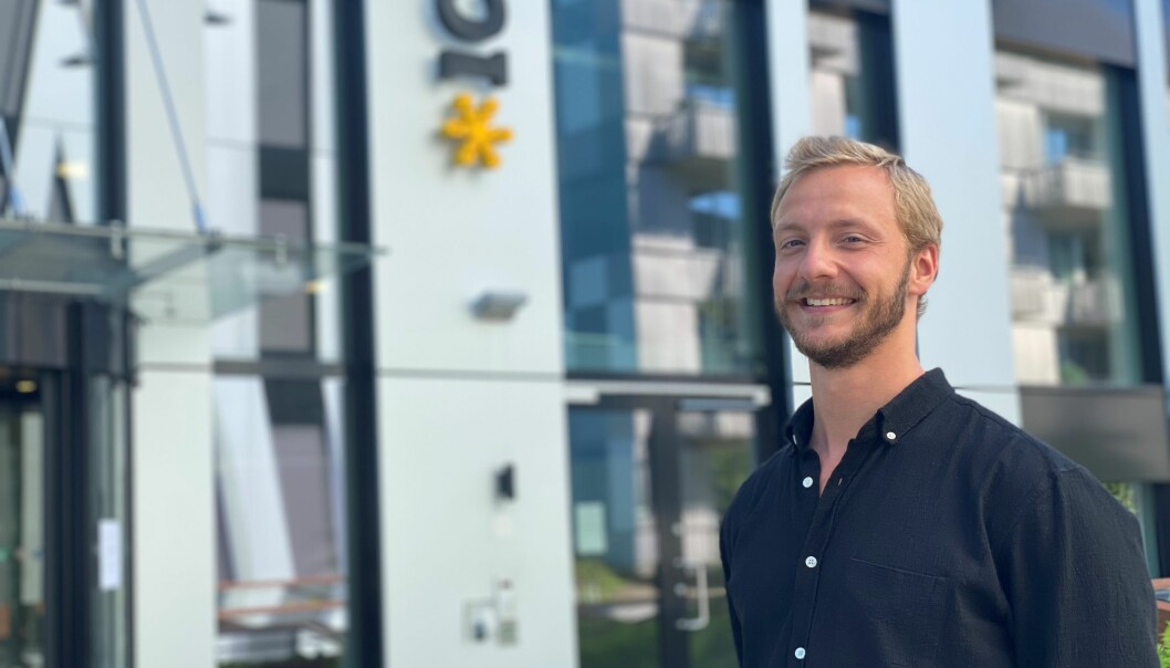 Sebastian Storvik er ny kommunikasjonssjef i Ice.
