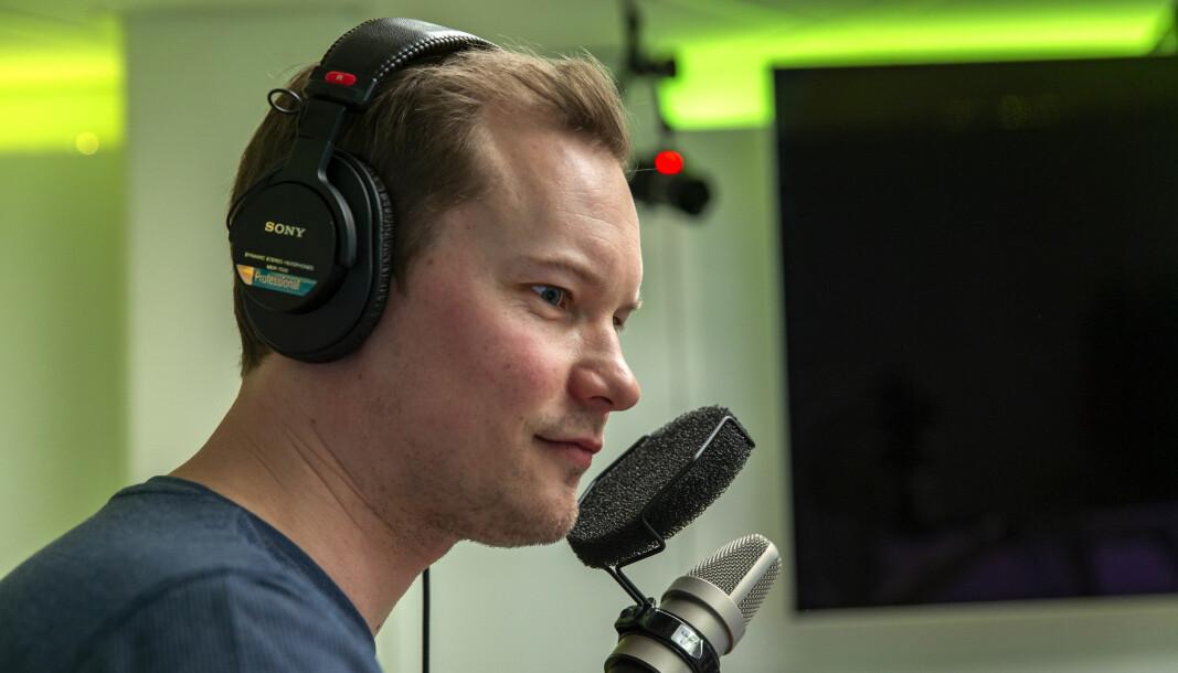 Aksel Faanes Persson har meldt overgang fra NRK til Sintef.