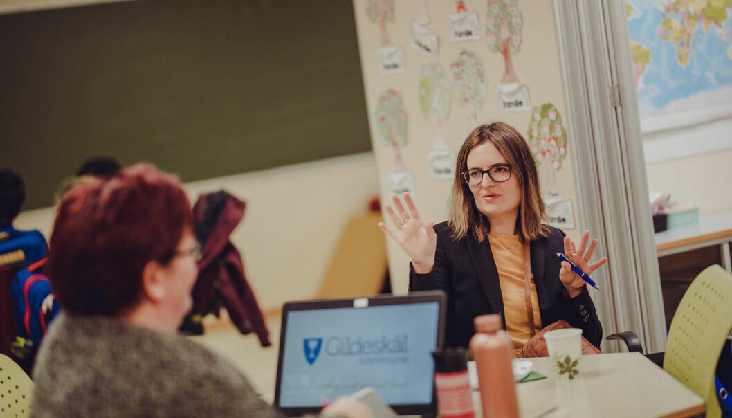 Prosjektleder Carina Rist, som den gang jobbet i KPB, ble leid inn av Gildeskål for å hjelpe kommunen.