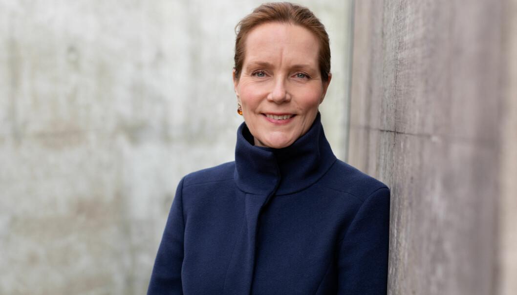 Aministrerende direktør Hanna Geiran i Riksantikvaren er nå på jakt etter bistand når det gjelder grafiske tjenester.