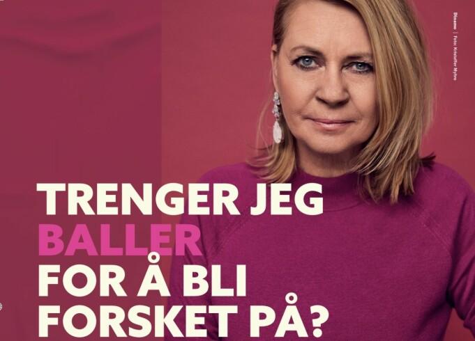 Slagordet i kampanjen er «Likestilling i 2021 handler om kvinnehelse». Ellen Arnstad er én av fem som stiller i kampanjen.