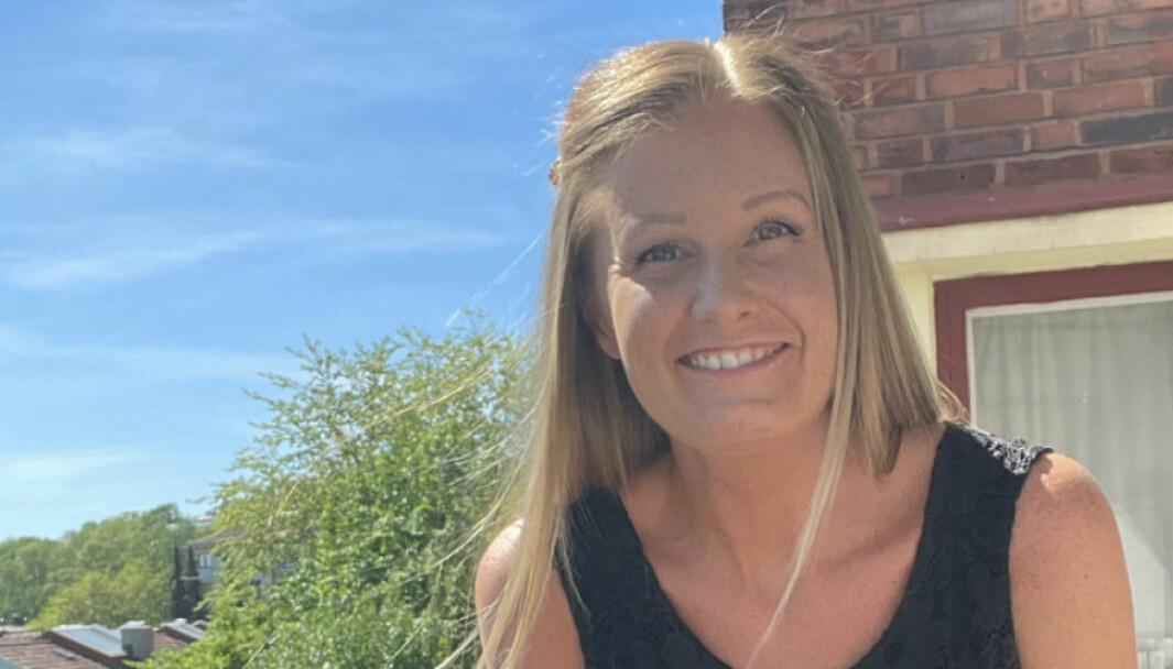 Anette Johnsrud Larsåsen jobber i markeds- og kommunikasjonsavdelingen ved Høyskolen Kristiania.