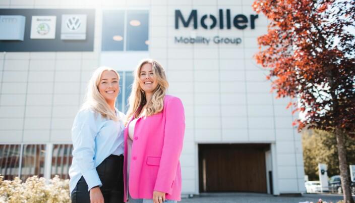 I sommer skal Lisa Hole og Julie Bratsberg jobbe med tjenesteinnovasjon og konseptutvikling for Møller Bil. I tillegg skal de teste ulike konsepter de kommer frem til i løpet av sommeren.