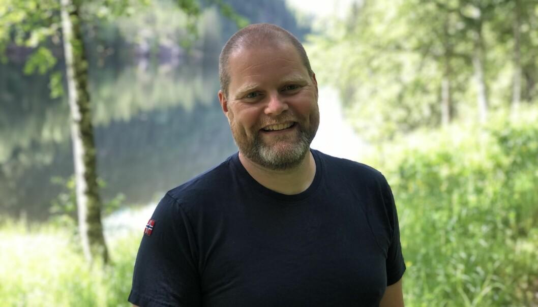 Roar Wold (42) flytter i sommer til Lillestrøm sammen med kone og hund. Der starter han i sin nye jobb hos NBIM (Oljefondet)