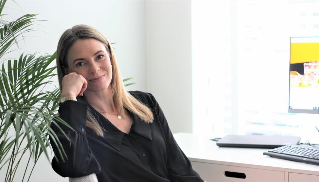 Marte Kirkerød startet jobbe som Senior marketing lead i Just Eat i mai.