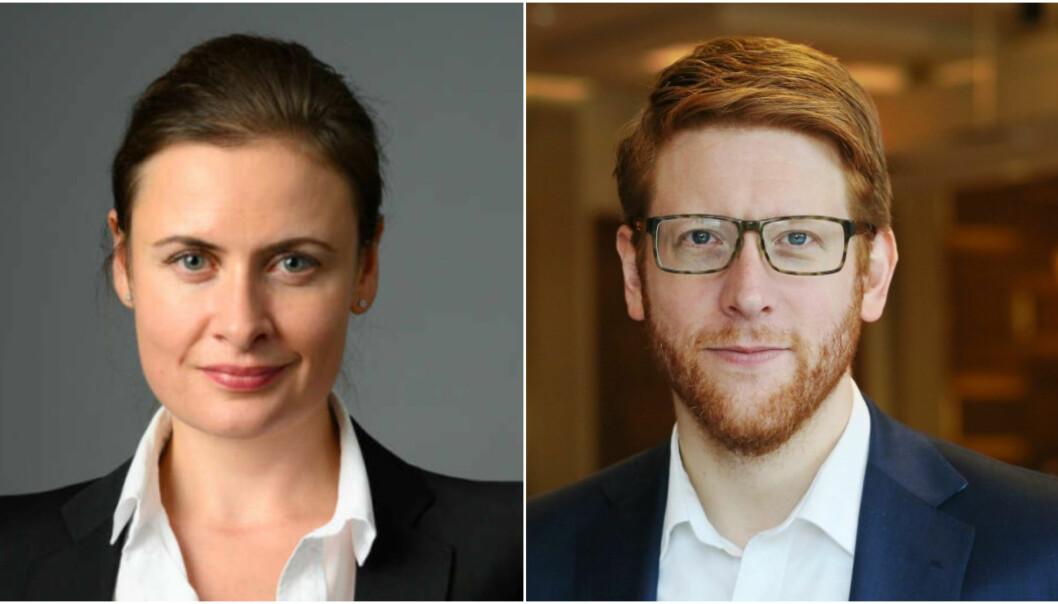 Carine Møller Mortensen blir ny VP kommunikasjon og Martin Henriksen leder for bærekraft og samfunnskontakt i Hurtigruten Norge