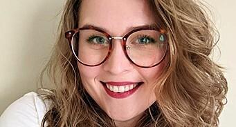 Kristyn har studert i Skottland, Danmark og USA. Nå blir hun markedssjef hos Foodback