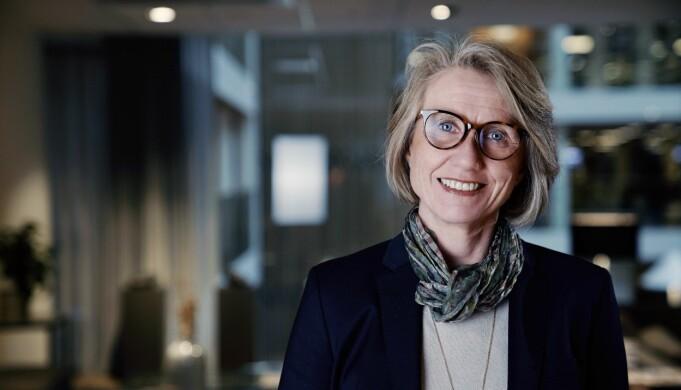 – Vi vil vise mer av personligheten vår og da ønsker vi å vise frem et lite knippe av våre flotte ansatte, sier prosjektleder for Nordea Berit Palmer.