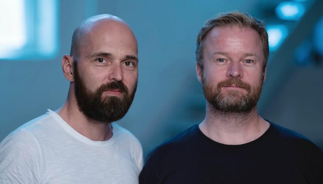 – Rekkefølgen på det vi sier blir derfor veldig viktig på radio, sier Kristoffer Reppen og Sigurd Solberg i Atyp.
