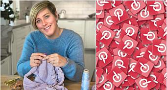 – Jeg er overrasket over antallet nettbutikker som ikke velger Pinterest som markedsføringskanal
