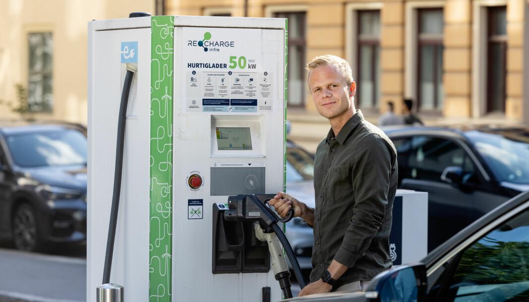 – Vi er ikke i mål før det er like enkelt å lade elbilen som å fylle bensin, sier prosjektleder for Elton, Patrik Eian Fjeldstad.