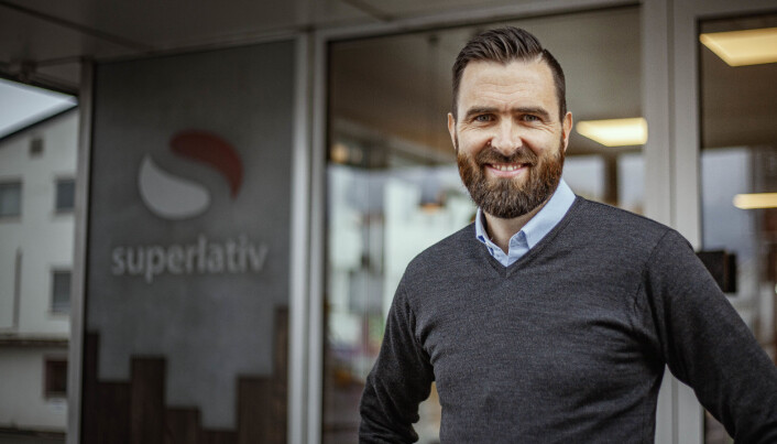 Hans Kristian Lahus, dagleg leiar i Superlativ Media.
