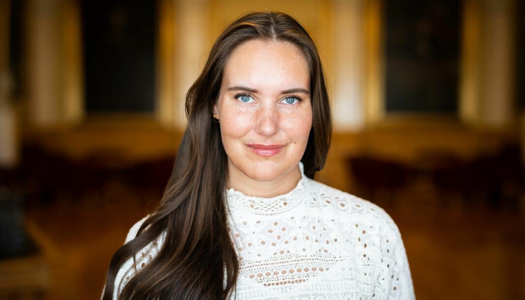 Ida Helene Andersen, kommunikasjonsrådgiver på Stortinget