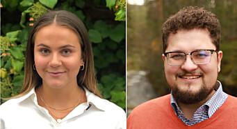 Celine(23) og Kristofer(29) har få år med erfaring. I høst skal de jobbe for Finansdepartementet