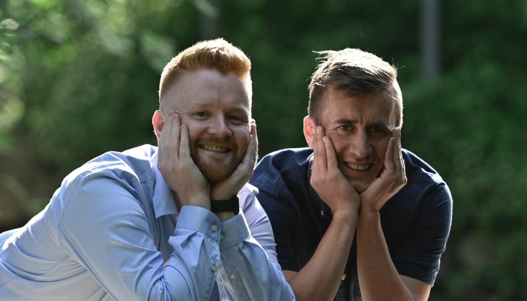 Gunnar Grude Ueland og Michael Sivertsen startet opp bedriften SUME Consulting sammen.